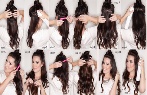 1-copy How to Wear Extensions-Step by Step Guide for Beginners
