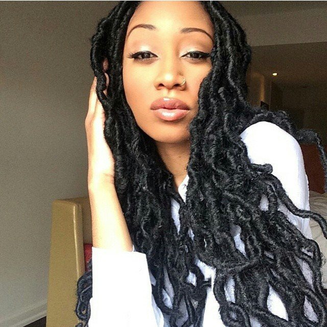 Inky-Tresses Top 20 Dreadlock Hairstyles Trends for Girls These Days