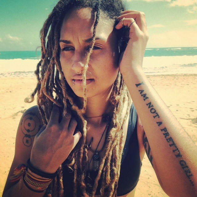 beach Top 20 Dreadlock Hairstyles Trends for Girls These Days