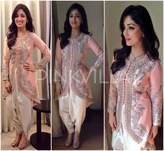 celebrities-in-dhoti-shalwar-3-1 How to Wear Dhoti Shalwar in Different Styles|Step by Step Tutorial