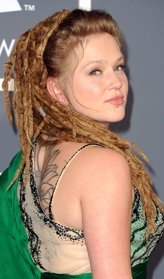 half-dread Top 20 Dreadlock Hairstyles Trends for Girls These Days