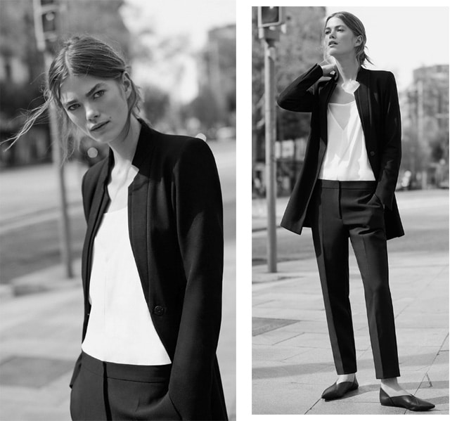 monday-to-friday-workwear-new-zara-women-edit-2016-look002 How to Wear Chinos? 20 Best outfits to Wear with Chinos