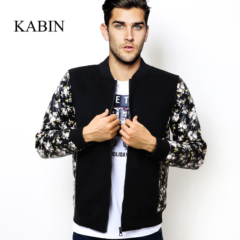 printedsleeves-1 How to Wear Bomber Jacket Men-18 Outfits with Bomber Jackets