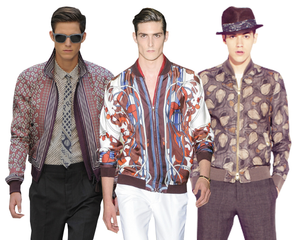 prints-1 How to Wear Bomber Jacket Men-18 Outfits with Bomber Jackets