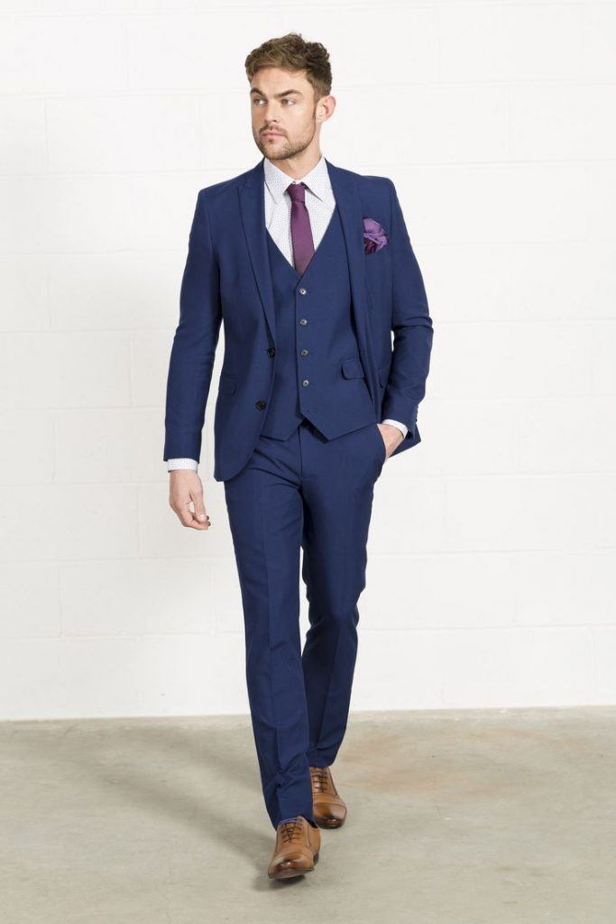 Never Wear Brown Shoes With A Blue Suit