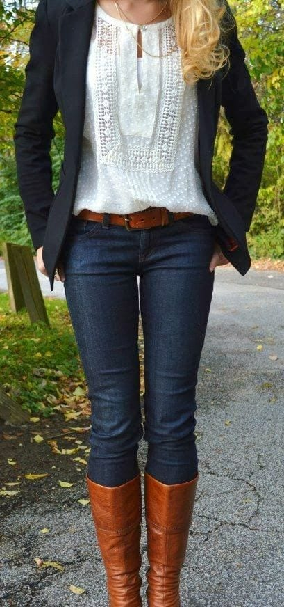 women outfit with white shirt1