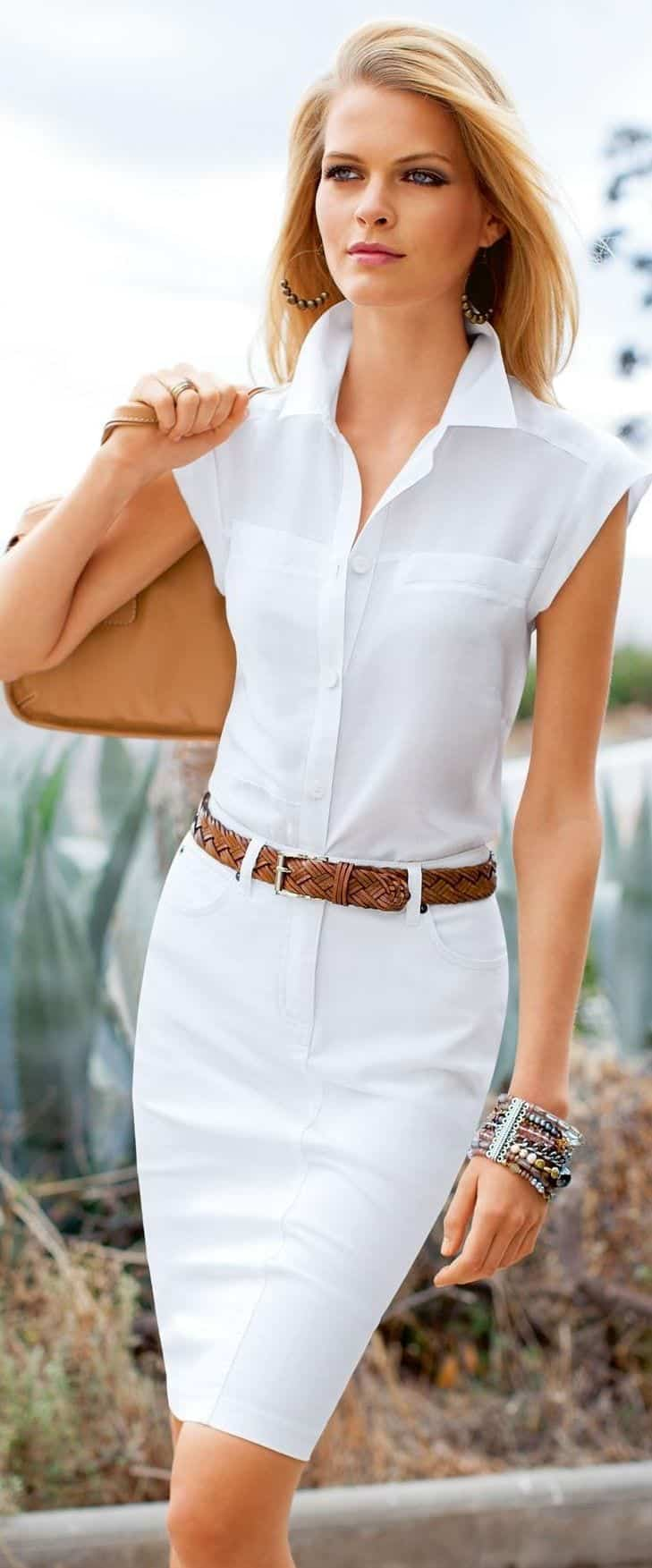 49 Fresh Outfits With White Shirts Pairing Styling Ideas