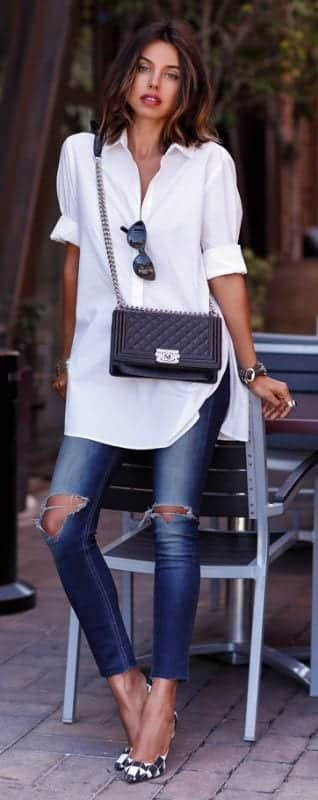 women outfit with white shirt4