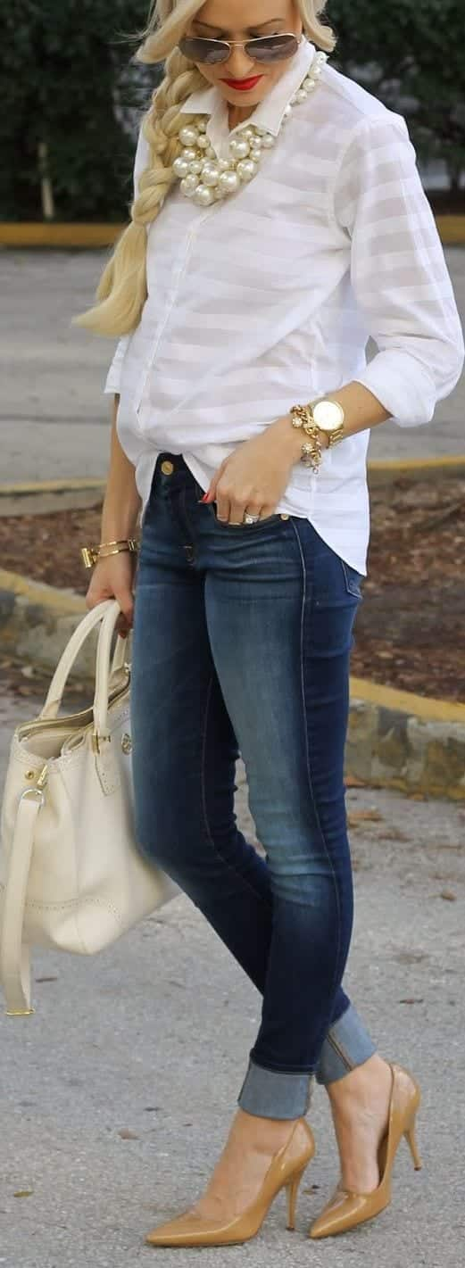 women outfit with white shirt6
