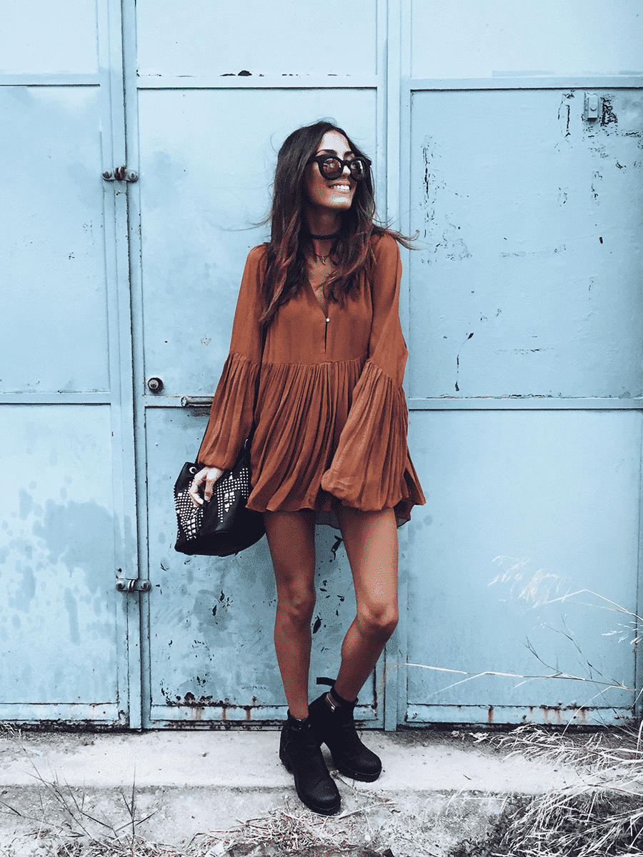 Outfits with flared sleeves (29)